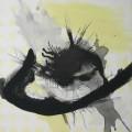 Spurensuche Trier  IV / 1 Kastanie  - Mischtechnik auf Holz 60 x 60 - 2002