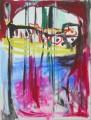 """Das große Tor  Nr. 10 aus dem 10-teiligen Zyklus """"Bilder einer Ausstellung"""" nach Mussorgsky / Emmerson, Lake & Palmer -  Acryl auf Leinwand 80 x 60 2005"""