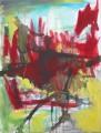 """Das Balett der Kücken  Nr. 5 aus dem 10-teiligen Zyklus """"Bilder einer Ausstellung"""" nach Mussorgsky / Emmerson, Lake & Palmer  - Acryl auf Leinwand 80 x 60 2005"""