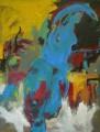 Figur in Blau 2008  Acryl auf Leinwand, 180 x 134 cm