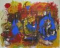 Triofobie I  Acryl/Öl auf Leinwand, 160 x 200 cm  2006