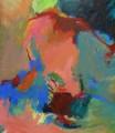 Im Tanz III 2008  Acryl auf Leinwand, 150 x 130 cm