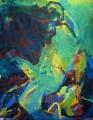 Im Fall 2008  Acryl auf Leinwand, 200 x 150 cm