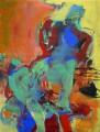 Im Tanz I 2008  Acryl auf Leinwand, 190 x 145 cm