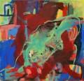 Ohne Titel 2008  Acryl auf Leinwand, 67 x 70 cm