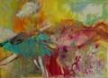 Tanz im Frühling 2007  80 x 110 cm Acryl auf Leinwand