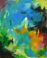 Ohne Titel 2010  Acryl auf Leinwand, 110 x 89 cm