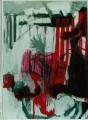 Studioaufnahme  - 2001 - Acryl auf Pappe 70 x 100