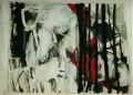 Sprung  - 2001 - Acryl auf Leinwand 150 x 189