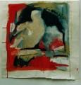 Taube  - 2001 - Acryl auf Papier 59 x 59