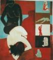 Film  - 2000 - Acryl auf Leinwand 89 x 92