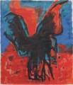 Vogel   - Acryl auf Leinwand 180 x 160 - 2002