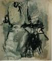 Ohne Titel  - 1998 - Mischtechnik auf Papier 150 x 180