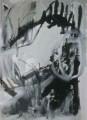 Ohne Figur  - 1998 - Mischtechnik auf Leinwand 75 x 92