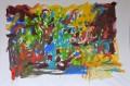 Schostakowitsch, Acryl auf Leinwand, 250 cm x 160 cm, 2017