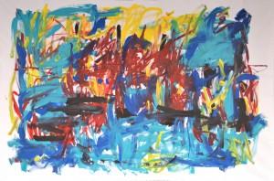Schubert, Acryl auf Leinwand, 250 cm x 160 cm, 2017