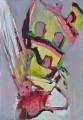 Wespe III, Acryl auf Leinwand, 70 cm x 100 cm, 2018