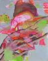 Wespe IV, Acryl auf Leinwand, 80 cm x 100 cm, 2018