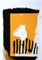 XII/3 Schablonensiebdruck Acryl auf Papier, 42 x 30 cm, 2019