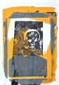 XII/4 Schablonensiebdruck Acryl auf Papier, 42 x 30 cm, 2019